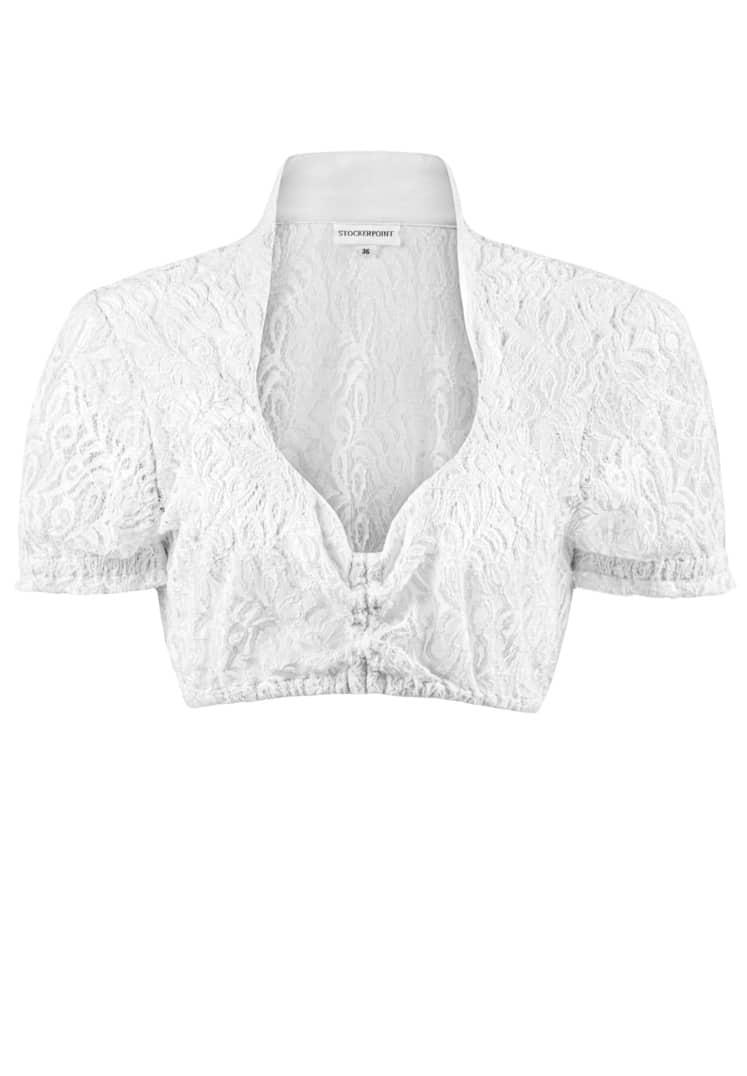 Bluse B-5040 weiss | 32