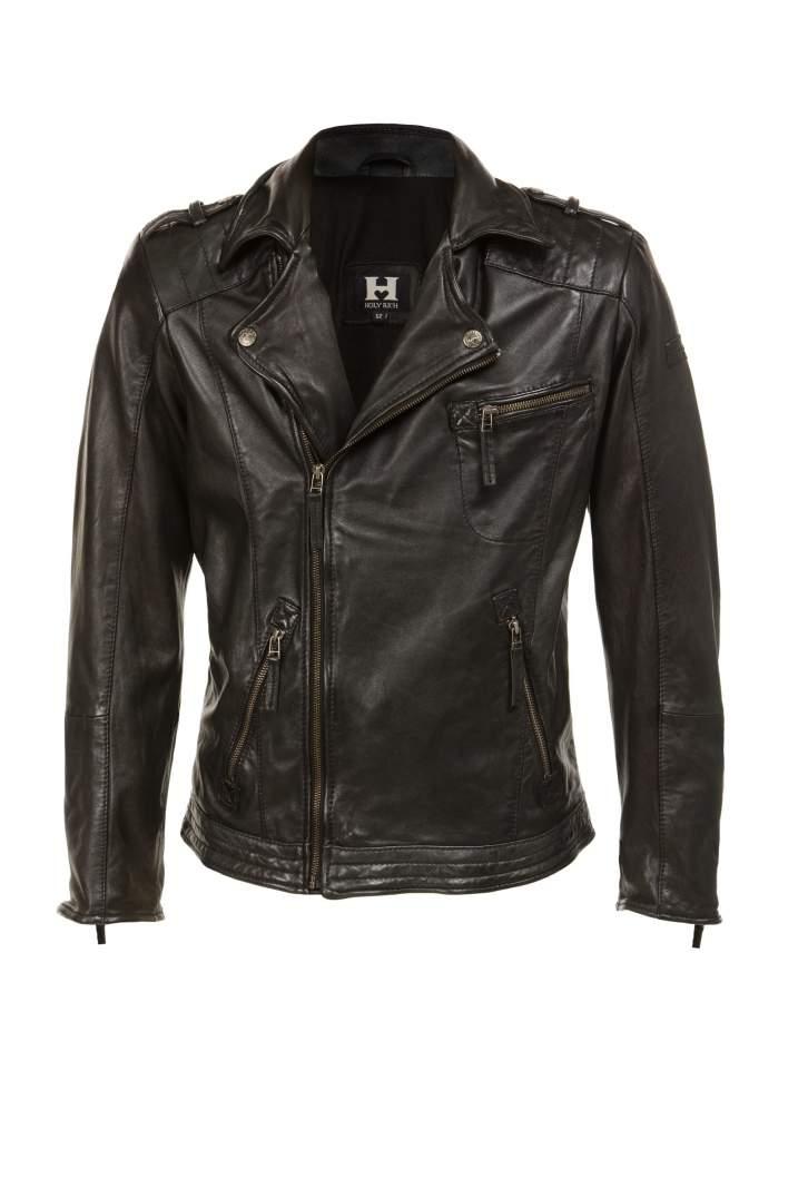Jacke Bronson black washed | M