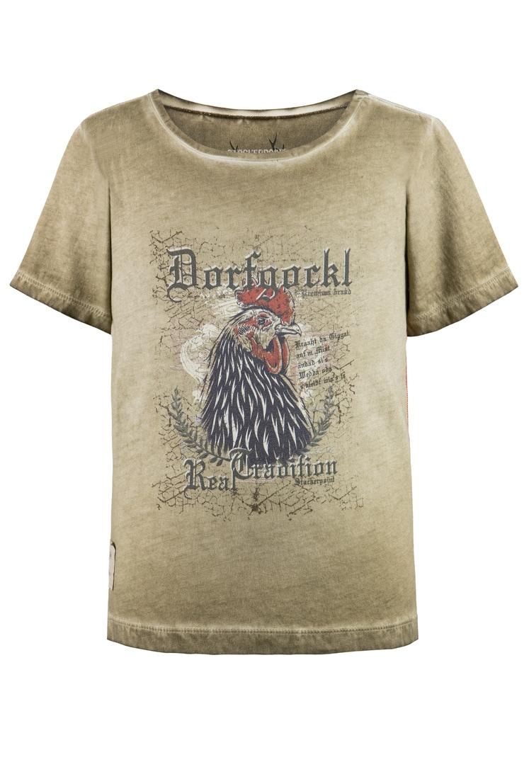 Shirt Dorfgockel Jr. sand | 134-140