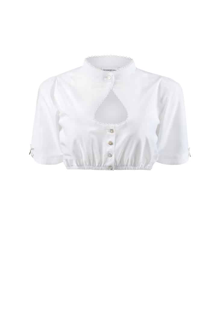 Bluse B-1045 weiss | 34