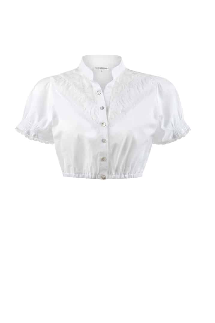 Bluse B-4020 weiss | 32