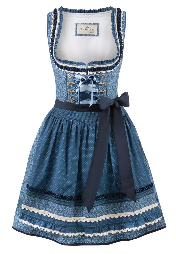 Dirndl Angelica blau   30