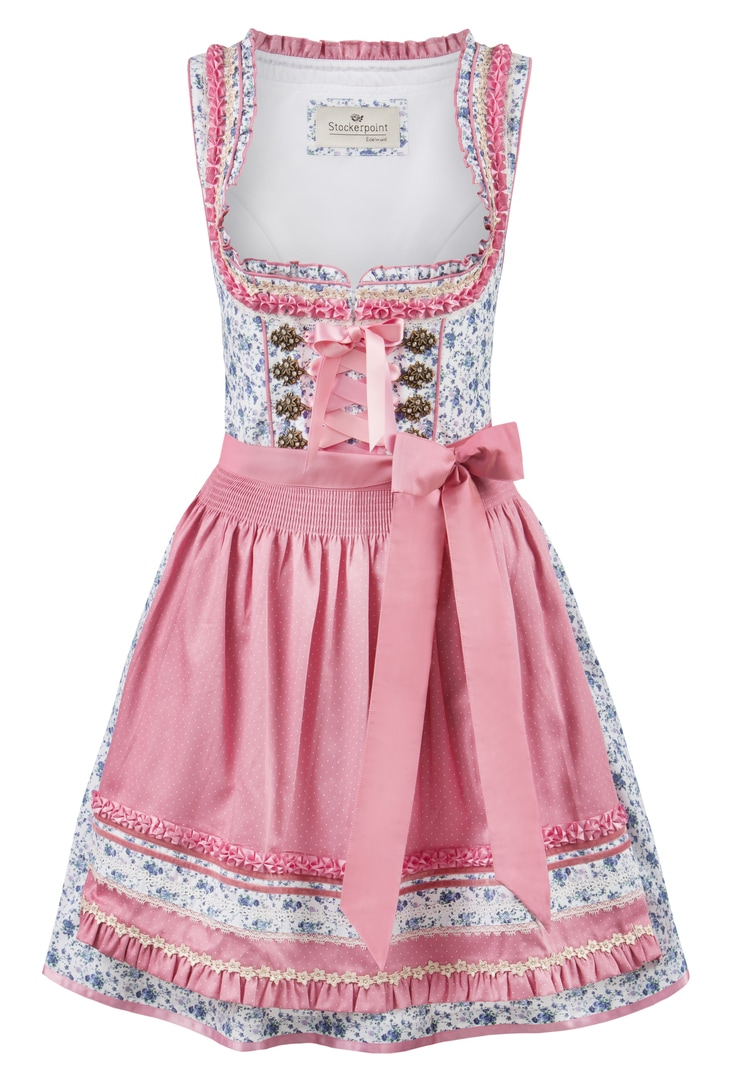 Dirndl Fidelia flower-rose | 30