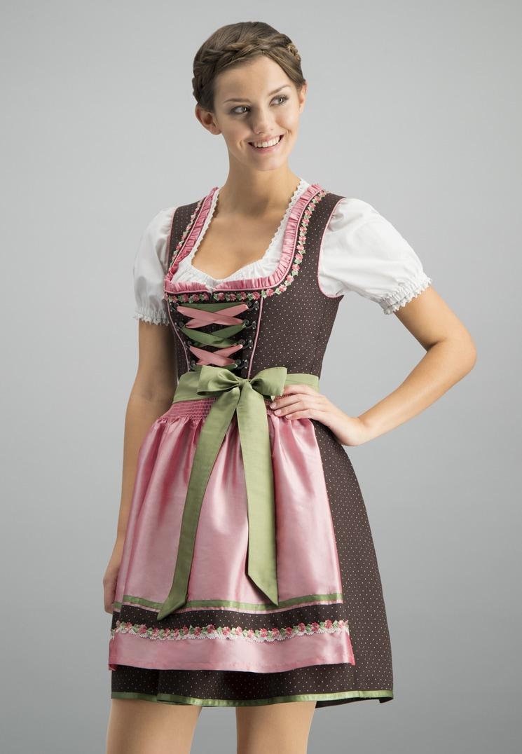 Dirndl Patty braun-rose   40