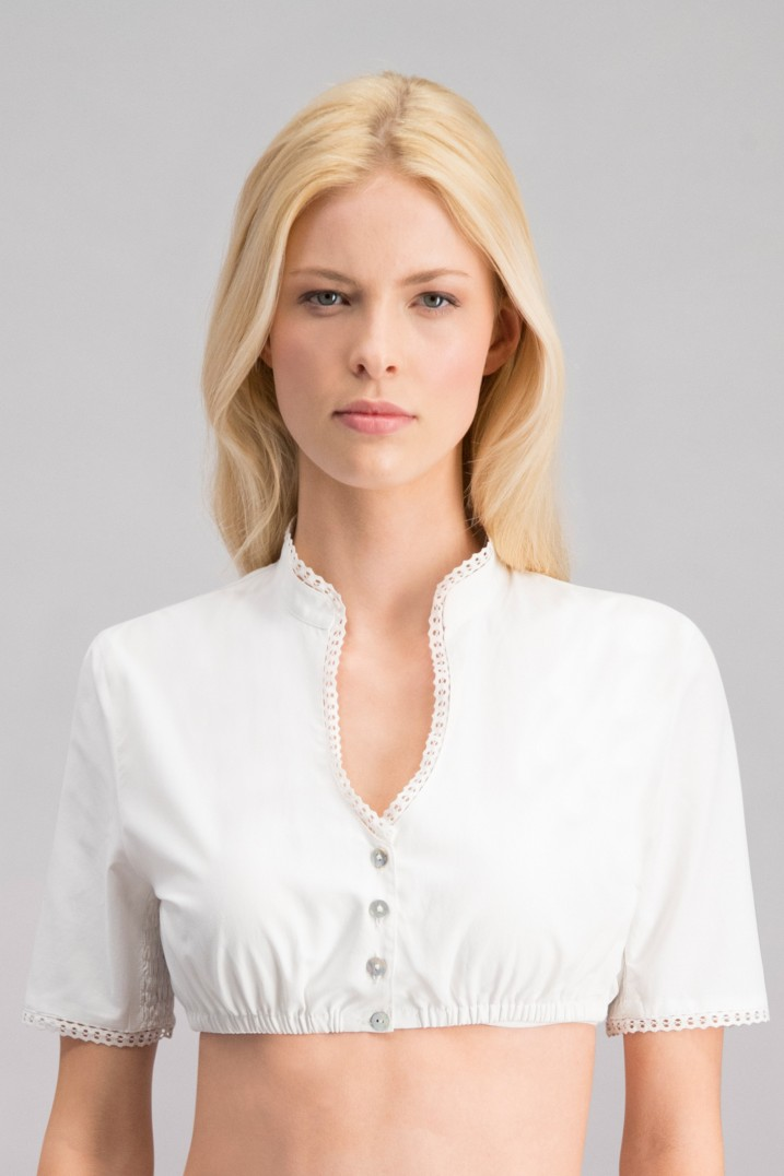 Bluse B-1062 weiss | 34