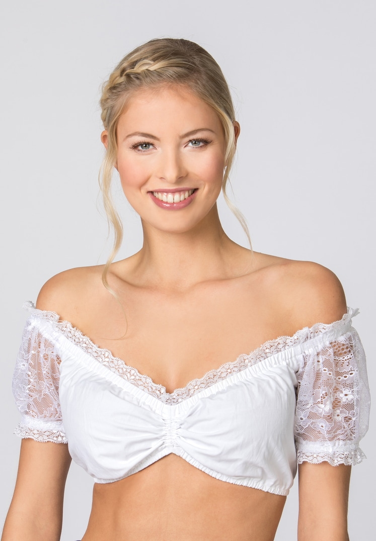 Bluse B-2029 weiss   34