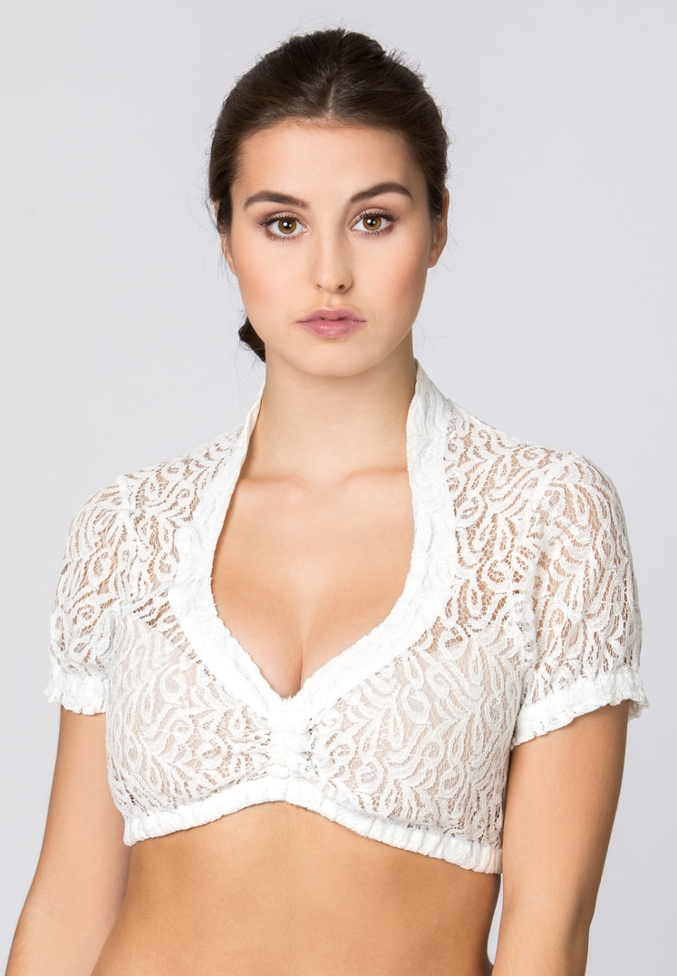 Bluse B-5040 weiss   32