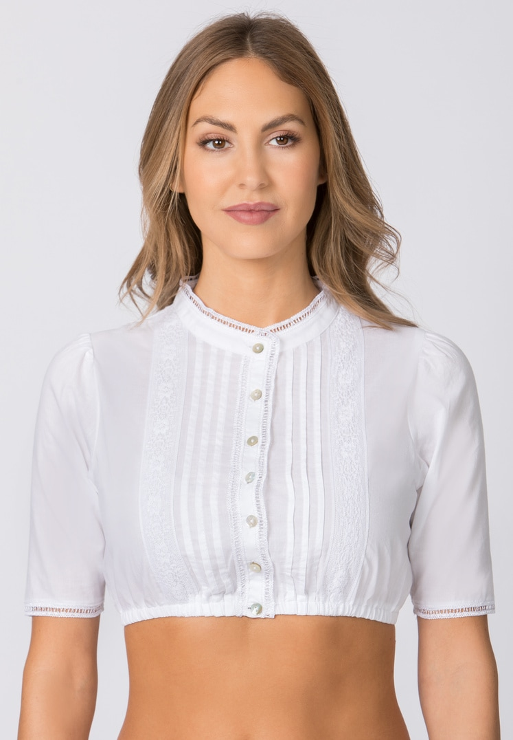 Bluse B-7086 weiss | 34