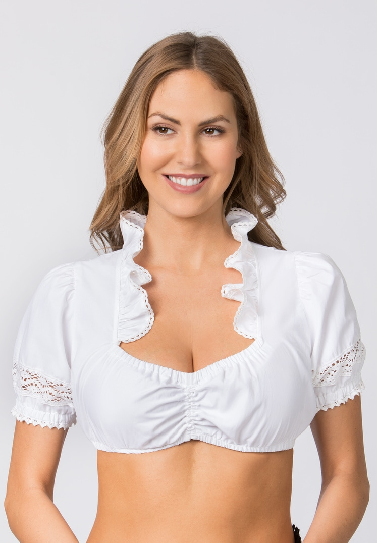 Bluse B-7200 weiss   34