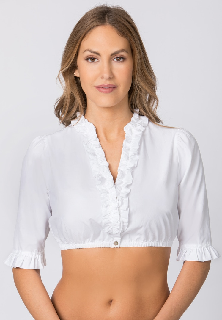 Bluse B-8030 weiss | 34