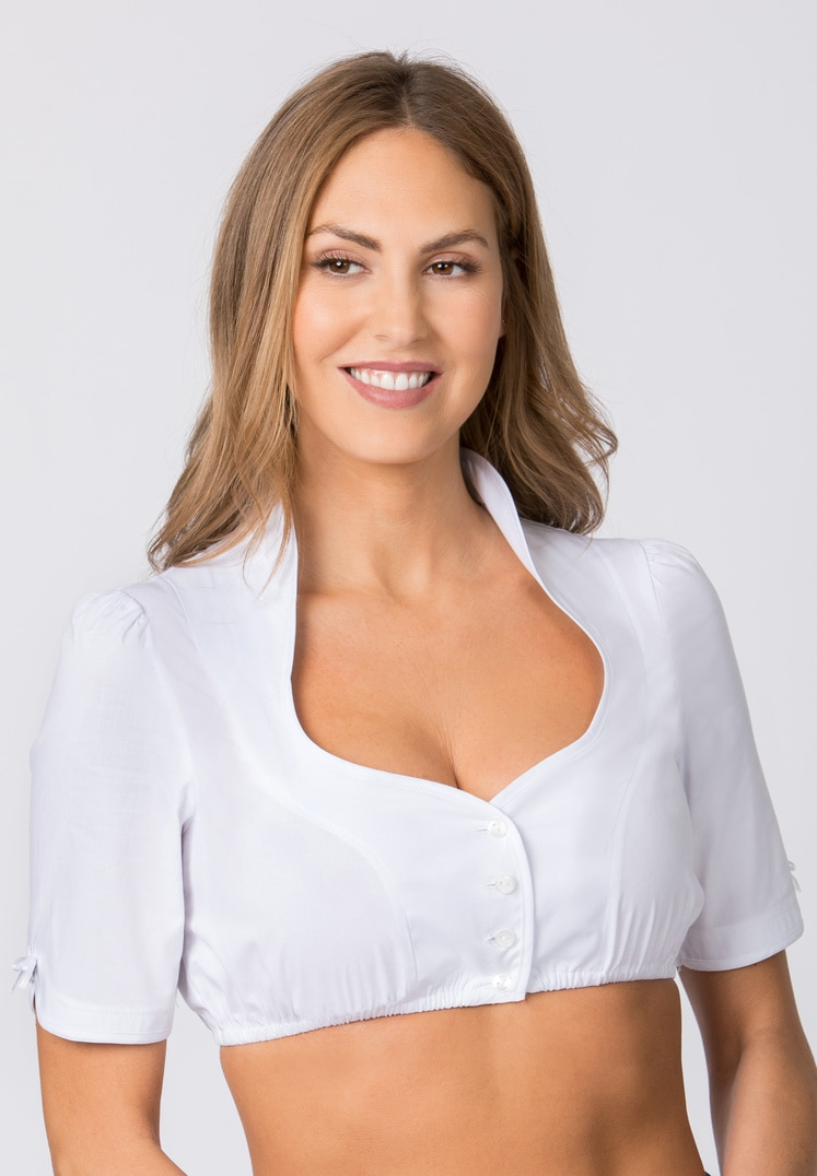 Bluse B-8033 weiss | 34