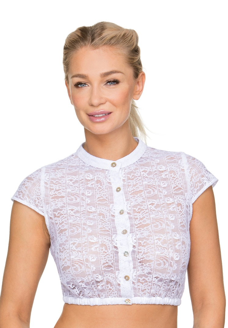 Bluse B-9010 weiss   34