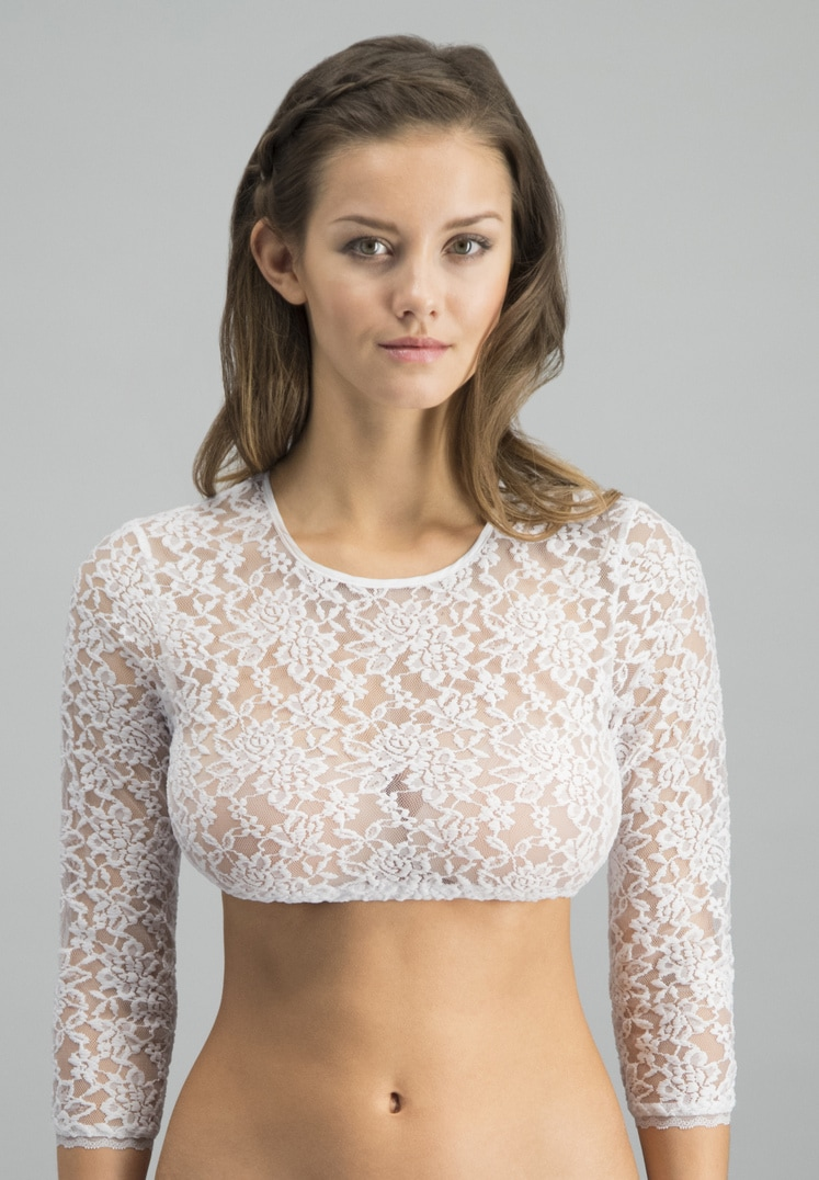 Bluse B-9020 weiss   32