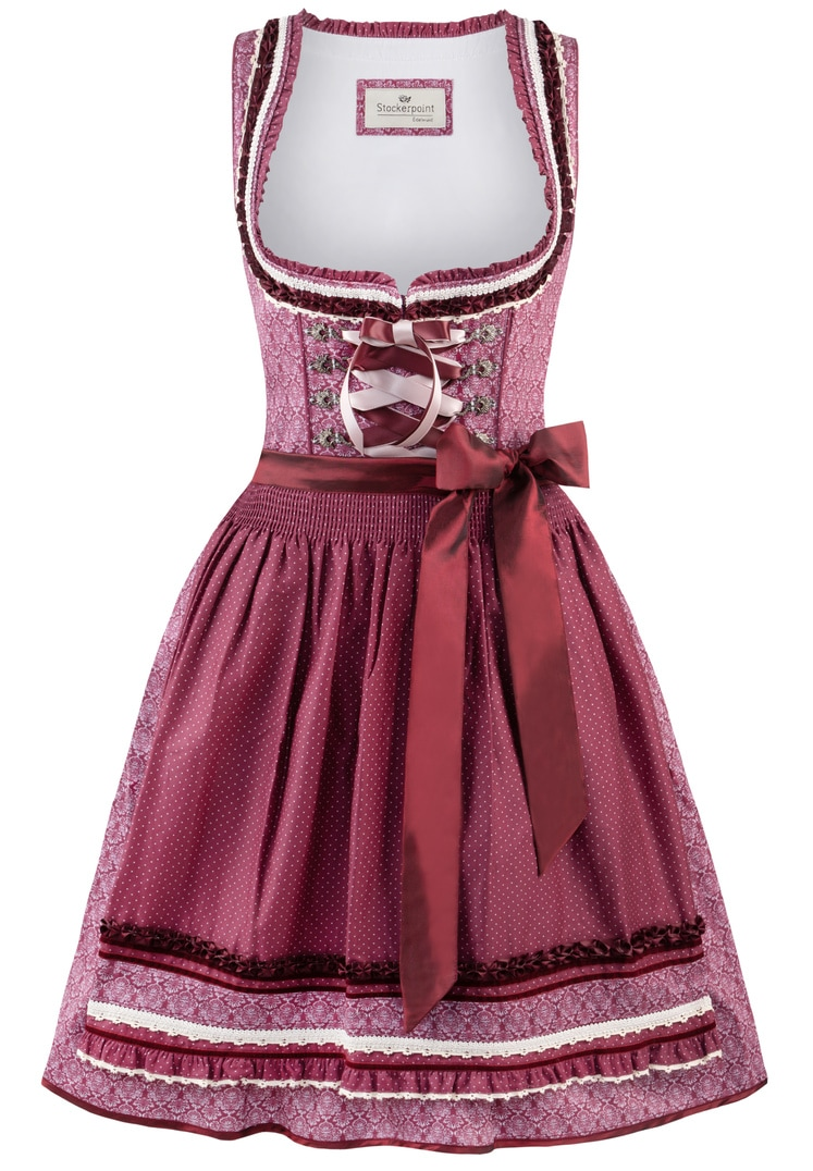 Dirndl Angelica bordeaux | 34