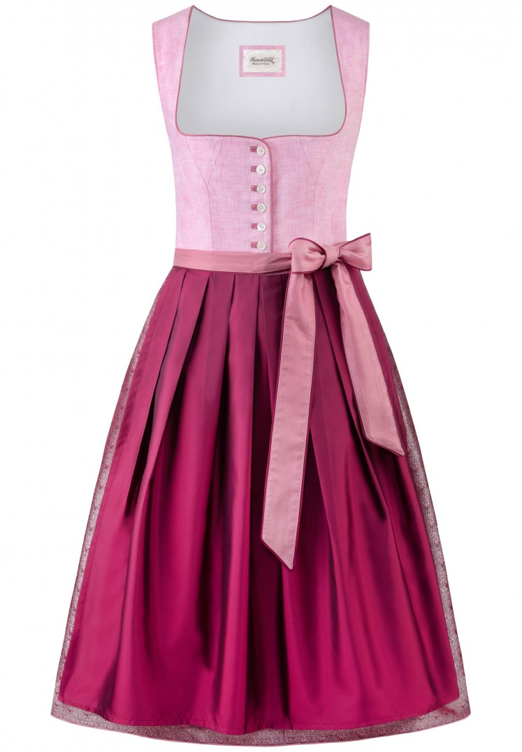 Dirndl Fleur rosa   32
