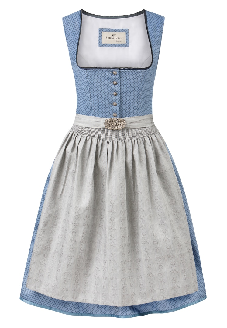 Dirndl Ines blau-grau | 30