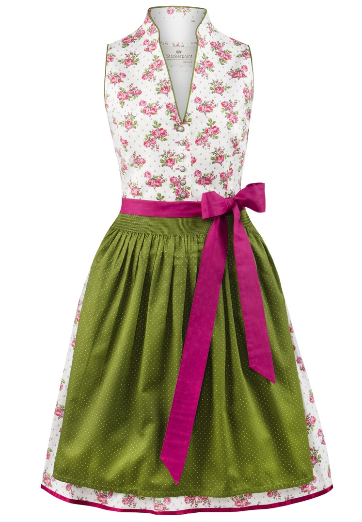 Dirndl Peggy pink-grün | 36