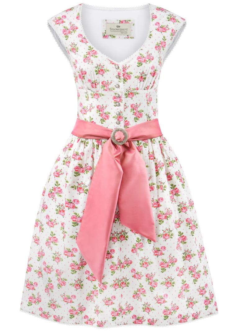 Dirndl Violetta pink-grün   32
