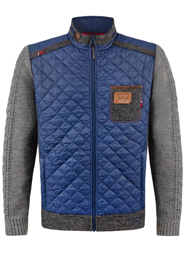 Jacke Alberto blau   S