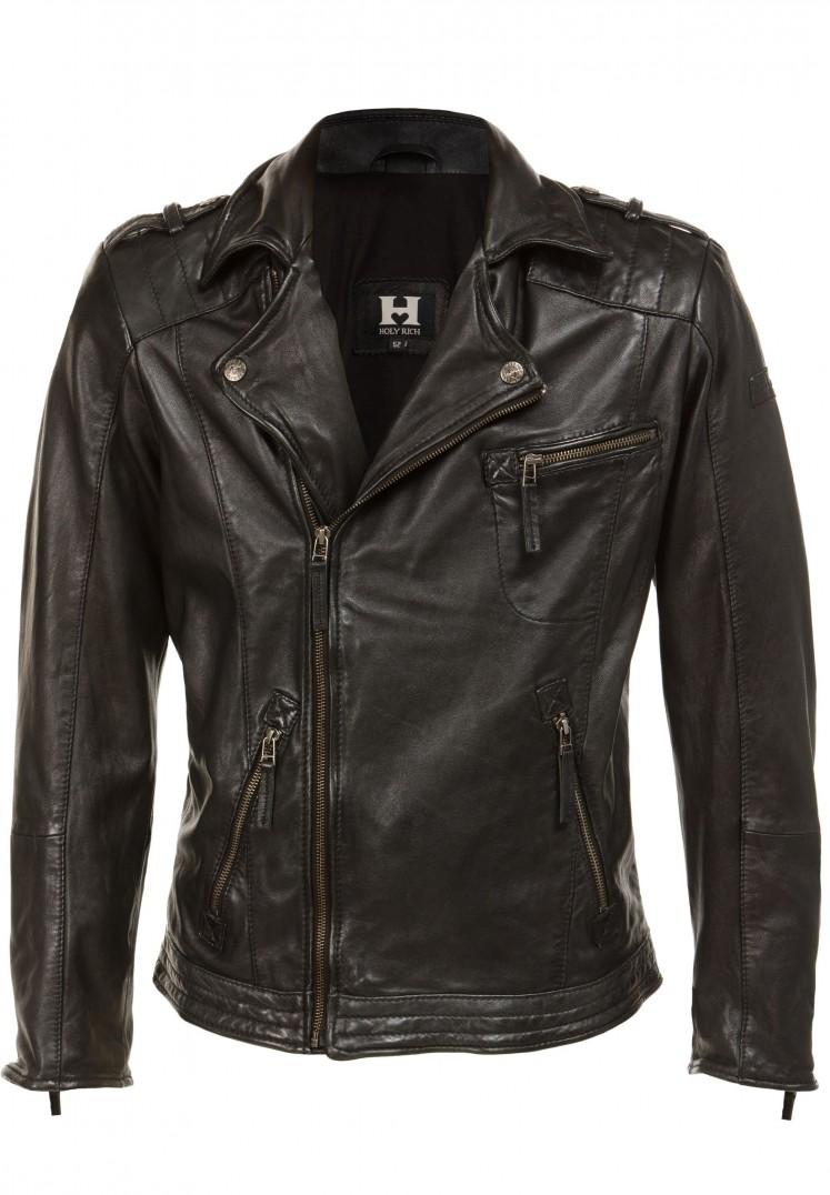 Jacke Bronson black washed | S