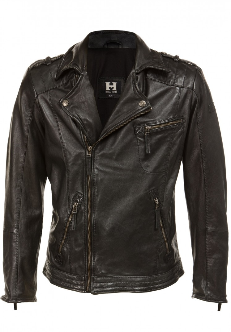 Jacke Bronson black washed | S