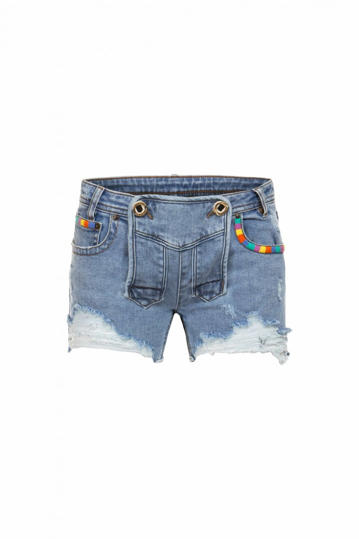 Jeans No 1-55 stone destroyed | 32