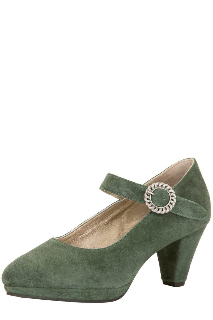 Schuhe 6006 dunkelgrün | 39