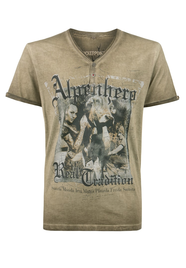 Shirt Alpenhero sand   S