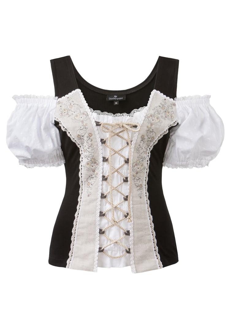 Shirt April schwarz | 34