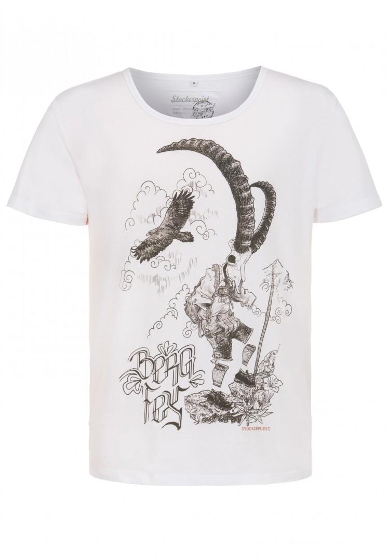 Shirt Bergfex weiss | M