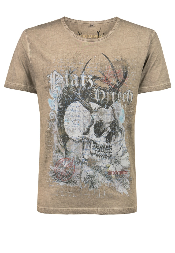 Shirt Bruno sand | S