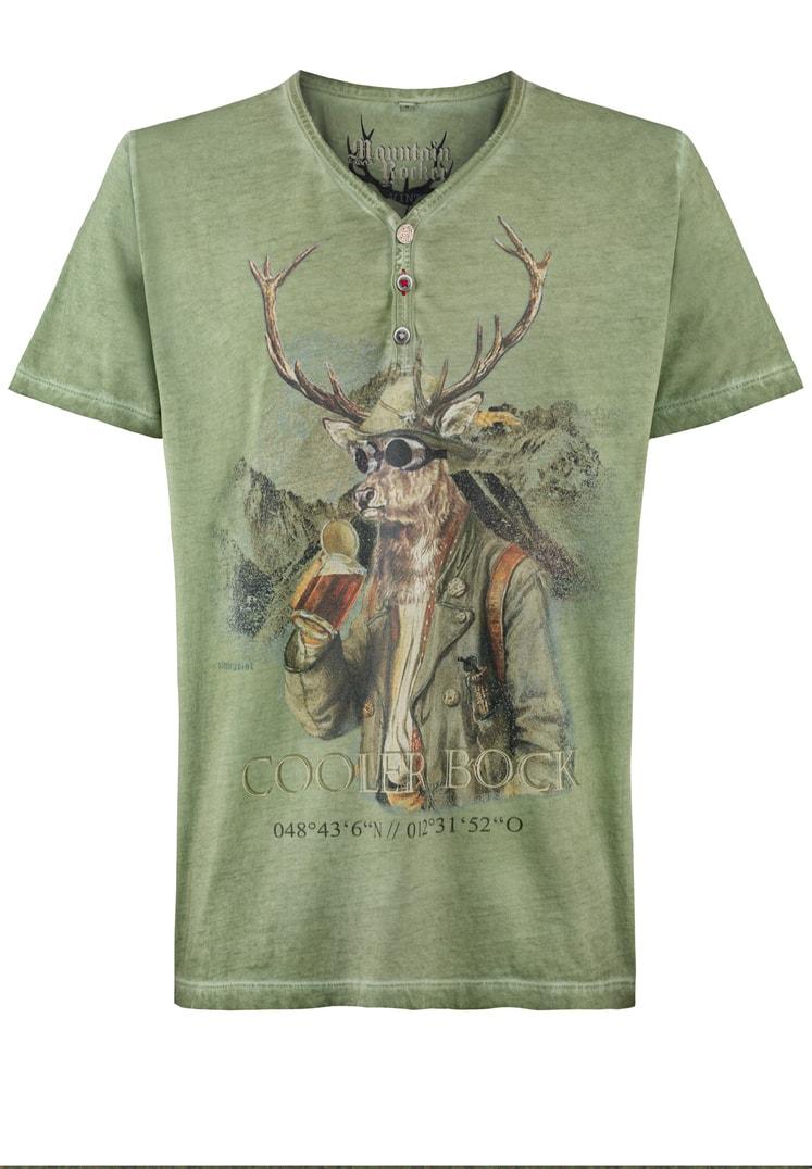 Shirt Cooler Bock grün | S