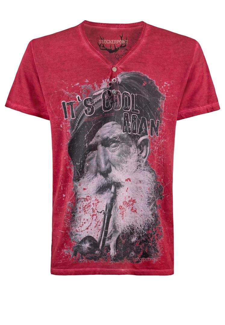 Shirt Coolman rot | S