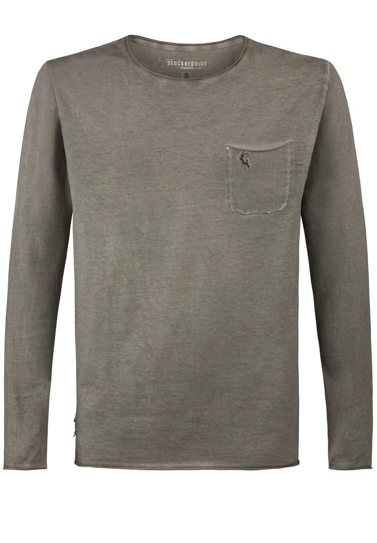 Shirt Falko langarm stein | S