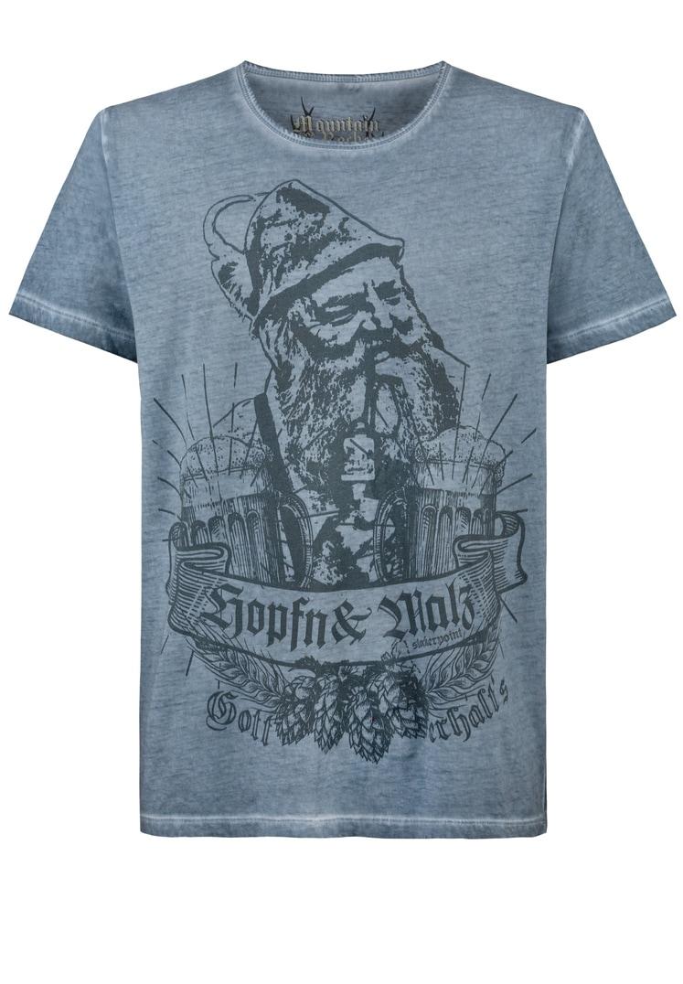 Shirt Ignaz rauchblau   S