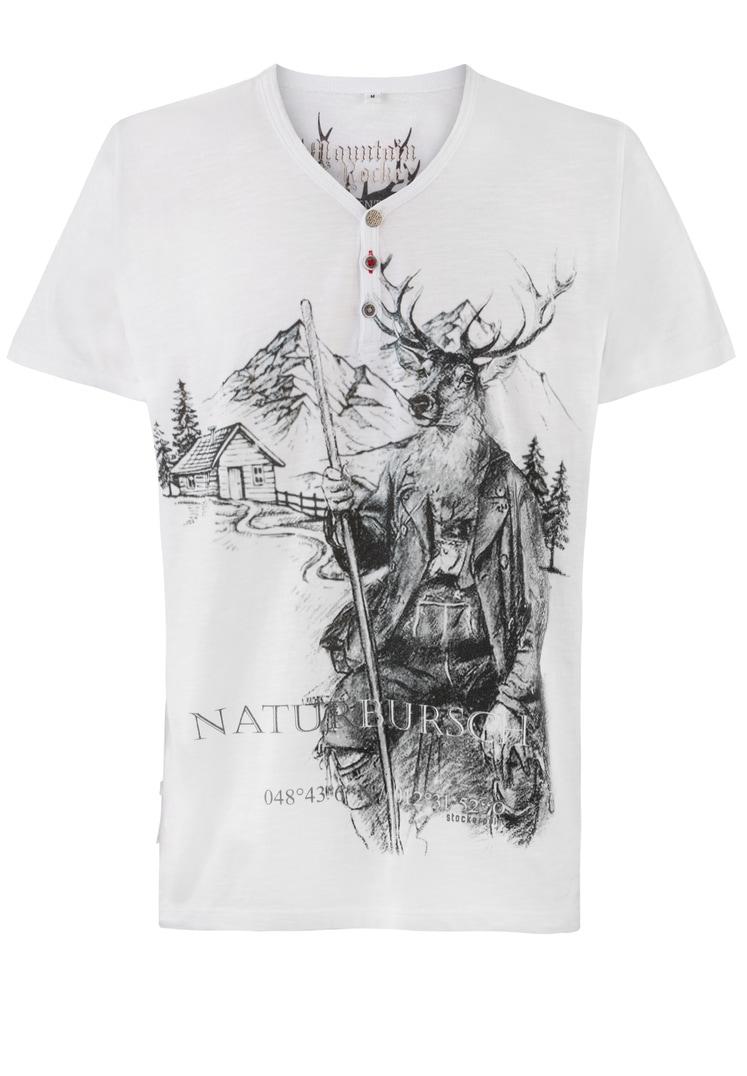 Shirt Naturbursch weiss | S