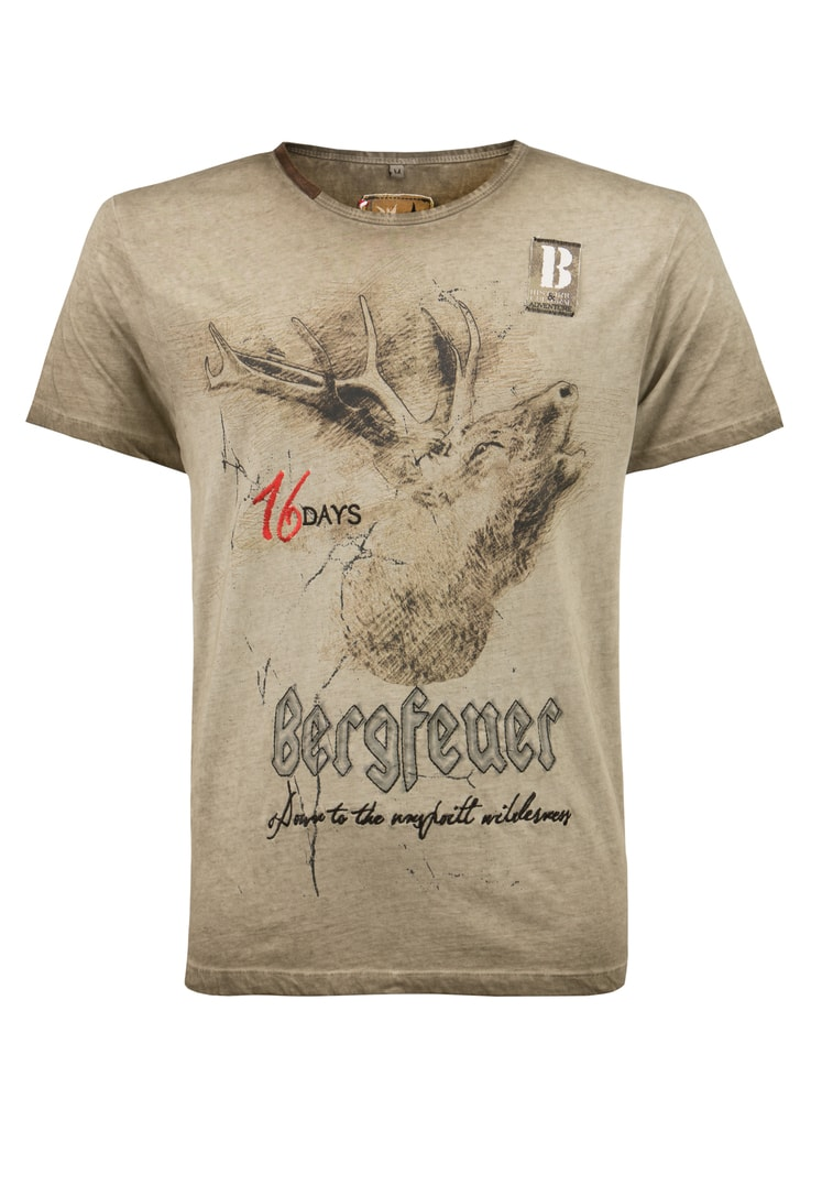 Shirt Urschrei sand | S