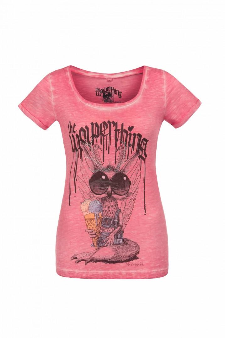 Shirt Wolpermadl pink | L