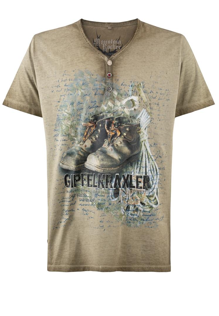 T-Shirt Gipfelkraxler sand   S
