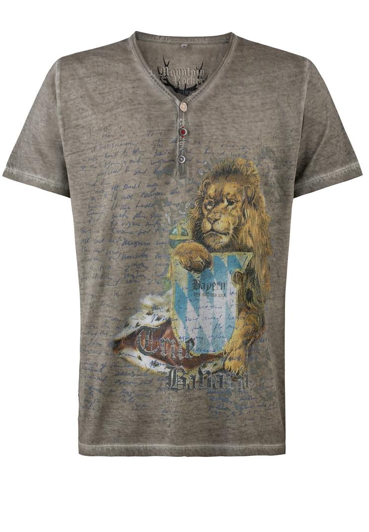 T-Shirt True Bavaria stein | S