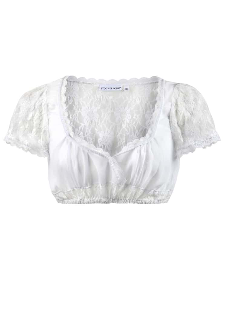 Bluse B-5050 weiss | 34