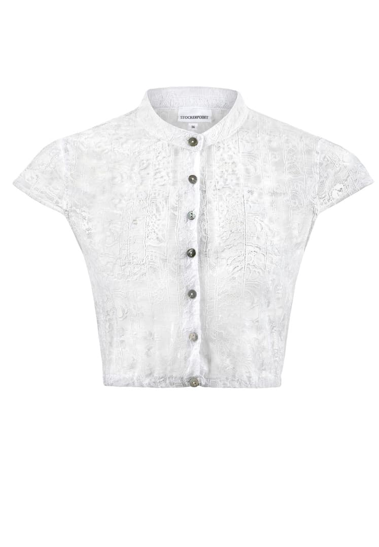 Bluse B-9010 weiss | 34