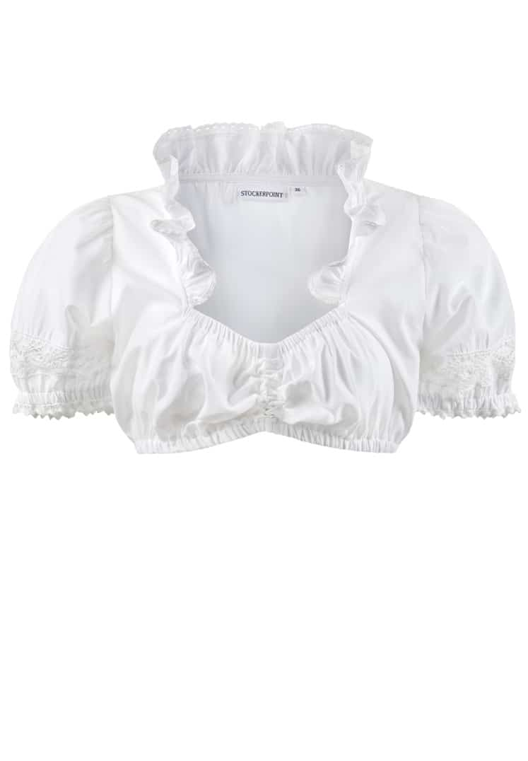 Bluse B-7200 weiss | 34