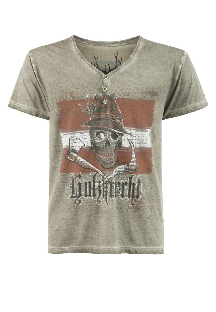 Shirt Knecht Austria stein   S